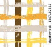 vector hand drawn paint stripe... | Shutterstock .eps vector #1367182532