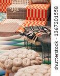 vertical interior details of...   Shutterstock . vector #1367201558