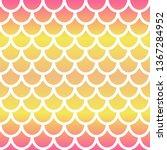 mermaid seamless pattern....   Shutterstock .eps vector #1367284952