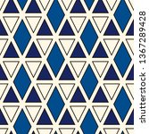 ethnic  tribal seamless surface ... | Shutterstock .eps vector #1367289428