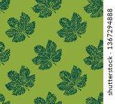 vector seamless textured grunge ...   Shutterstock .eps vector #1367294888