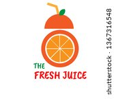 logos and icons for juice and... | Shutterstock .eps vector #1367316548