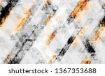 seamless grunge background with ... | Shutterstock .eps vector #1367353688