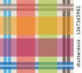 classical shirt print. seamless ... | Shutterstock .eps vector #1367365982