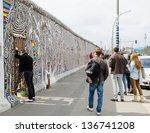 Berlin  April 24  Graffiti At...