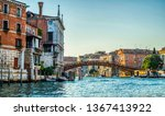 morning view from grand canal... | Shutterstock . vector #1367413922