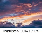 amazing cloudscape on the sky... | Shutterstock . vector #1367414375