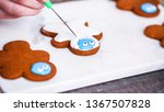 step by step. decorating... | Shutterstock . vector #1367507828