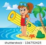 summer water activity theme 6   ...   Shutterstock .eps vector #136752425