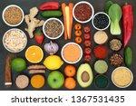 liver detox super food concept...   Shutterstock . vector #1367531435