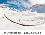 julier pass  switzerland ... | Shutterstock . vector #1367534165
