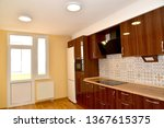 premises of kitchen with the... | Shutterstock . vector #1367615375
