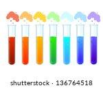 test tubes | Shutterstock .eps vector #136764518