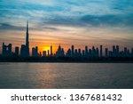 Sunrise In Dubai  Dawn Over...