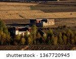 countryside  tibetan farm... | Shutterstock . vector #1367720945