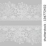 floral background. vector... | Shutterstock .eps vector #136772432