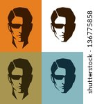 simple illustrations of a...   Shutterstock .eps vector #136775858