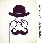 Gentlemen With Bicycle Eyeglass ...