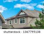 the top of the house or... | Shutterstock . vector #1367795138