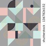 geometric pattern. ethnic...   Shutterstock .eps vector #1367826152