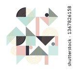 geometric pattern. ethnic...   Shutterstock .eps vector #1367826158