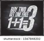 1 1 3 sale banner design  buy... | Shutterstock .eps vector #1367848202