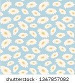 seamless vintage pattern hand... | Shutterstock .eps vector #1367857082