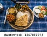 Typical Nepali Dal Bhat