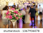 dancing couples during party or ... | Shutterstock . vector #1367936078