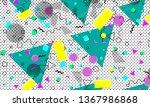 pop art color background....   Shutterstock .eps vector #1367986868