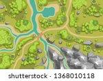 vector illustration. landscape. ...   Shutterstock .eps vector #1368010118