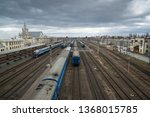 brest  belarus  circa march... | Shutterstock . vector #1368015785