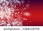 realistic snow background.... | Shutterstock .eps vector #1368118745