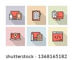 web design icon concept