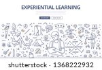 experiential learning concept.... | Shutterstock .eps vector #1368222932