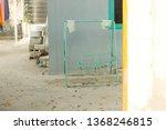 abandoned swing in a maldivian... | Shutterstock . vector #1368246815