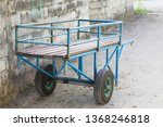 isolated chariot on the street  ... | Shutterstock . vector #1368246818