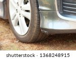 scratches from smash on front... | Shutterstock . vector #1368248915