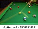 Corner Pocket Shot On A Pool...