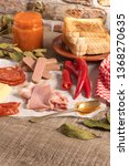 traditional portuguese snack... | Shutterstock . vector #1368270635