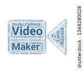video camera word cloud. tag...