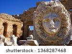 Leptis Magna Archeologic Ruins - Libya