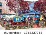asheville  nc  usa 4 11 19  ... | Shutterstock . vector #1368327758