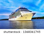 klaipeda lithuania may 28 2015... | Shutterstock . vector #1368361745