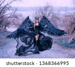 Charming Gorgeous Dark Witch...
