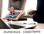 concept of digital marketing... | Shutterstock . vector #1368378995