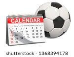 Soccer Ball With Calendar ...