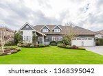 beautiful exterior of newly...   Shutterstock . vector #1368395042