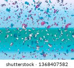 fragments of stones on a color...   Shutterstock . vector #1368407582