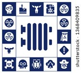 threat icon set. 17 filled...   Shutterstock .eps vector #1368409835